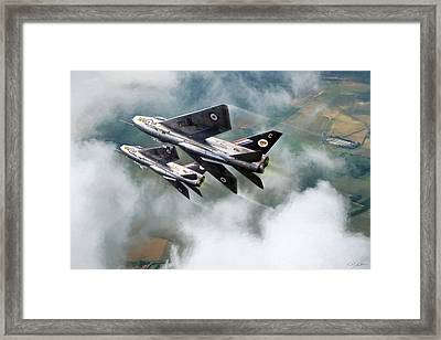 I Fear No Man Framed Print by Peter Chilelli
