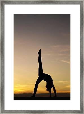 I Feel Free Framed Print by Stelios Kleanthous