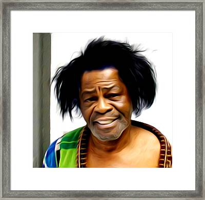 I Feel Good - James Brown Framed Print