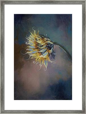 I Feel Like A Sunflower Painting Framed Print