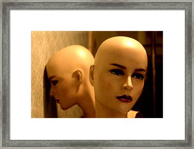 I Feel The Same But We Have To Face It Framed Print by Jez C Self