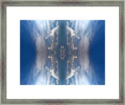 I Fly Framed Print by Renata Vogl