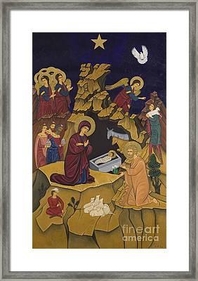 I Genisis Tou Christou Framed Print by Marinella Owens