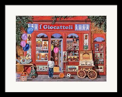 Toy Shop Framed Prints