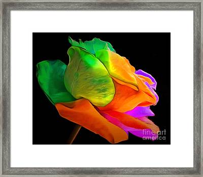 I Give You My Love Framed Print by Krissy Katsimbras