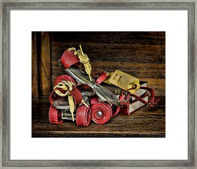 I Got A Brand New Pair Of Roller Skates Framed Print by Heather Applegate