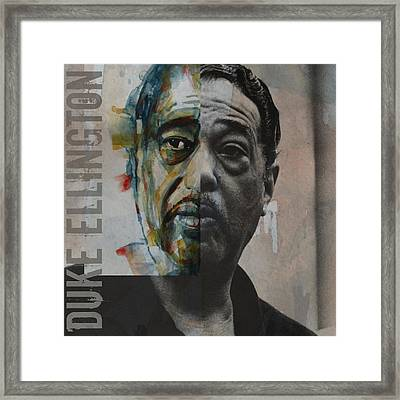 I Got It Bad And That Ain't Good Framed Print by Paul Lovering