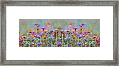 I Got To Get Back To The Garden Framed Print by Bill Cannon