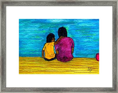 I Got You Framed Print by Angela L Walker