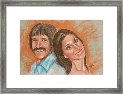 I Got You Babe Framed Print by Sandra Valentini