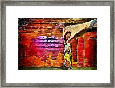 I Got You - Da Framed Print