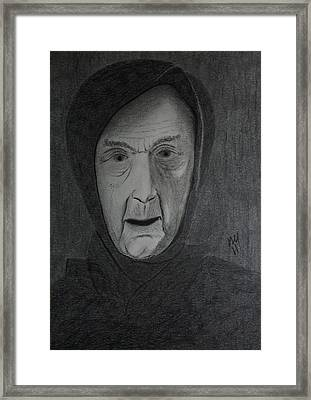 I Have An Appointment With Him Tonight In Samarra Framed Print