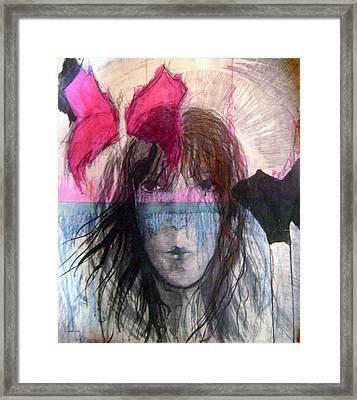 I Have In Head Confusion  Framed Print by Wojtek Kowalski