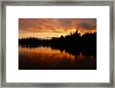I Have Seen Stormy Days That I Thought Would Never End Framed Print by Larry Ricker
