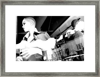 I Have To Get Out Of Here Framed Print by Jez C Self