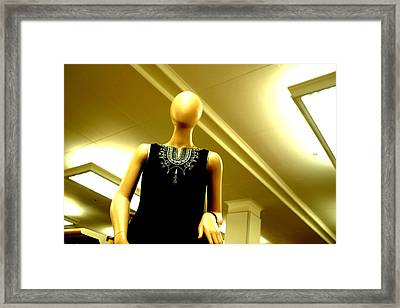 I Have Told You Once Framed Print by Jez C Self