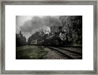 I Hear The Train A Comin' Framed Print