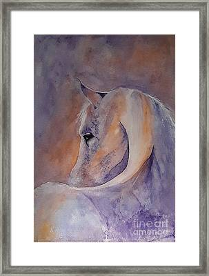 I Hear You - Painting Framed Print by Veronica Rickard