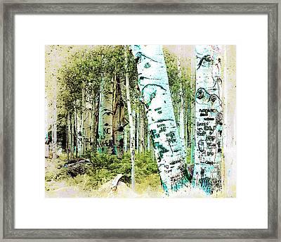 I Heart Tigger Framed Print by Arne Hansen