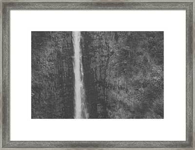 I Hope You Don't Forget Framed Print by Laurie Search