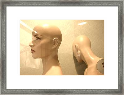I Just Cant Look Framed Print by Jez C Self