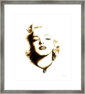 I Just Want To Be Wonderful Framed Print