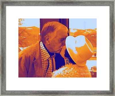 I Knew Two  Framed Print by Jesse Ciazza