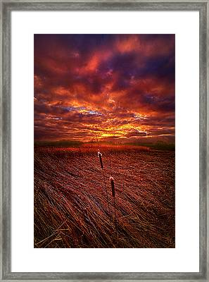 I Know That We Can Make It, You And Me Framed Print by Phil Koch