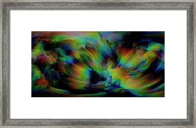 Show Sum Spinal Nebula Framed Print by Betsy Knapp