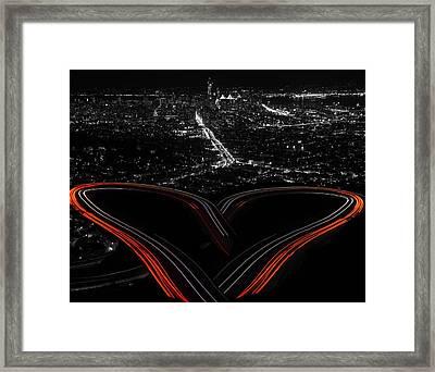I Left My Heart In San Francisco Framed Print