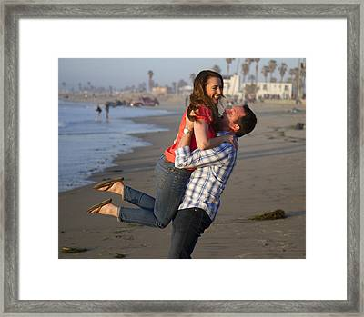 Framed Print featuring the photograph I Lift You Up by Nathan Rupert