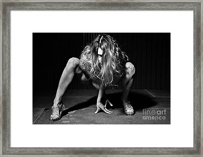 I Look At You Framed Print