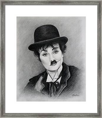 I Love Charlie Framed Print by Lena Day