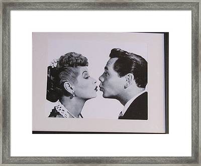 I Love Lucy Framed Print