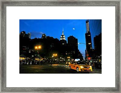 I Love New York City Framed Print by Diana Angstadt