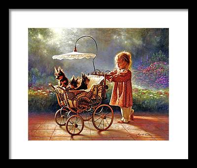 Yorkshire Terrier Framed Prints
