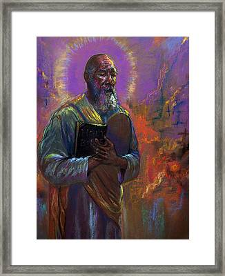 I Love Thy Law Framed Print by Tommy  Winn