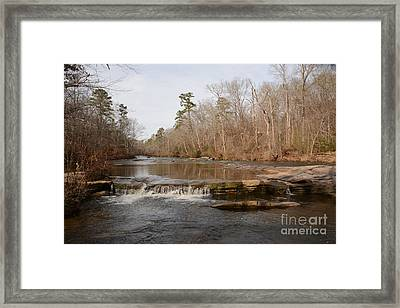 I Love To Go A Wanderin' Yellow River Park -georgia Framed Print