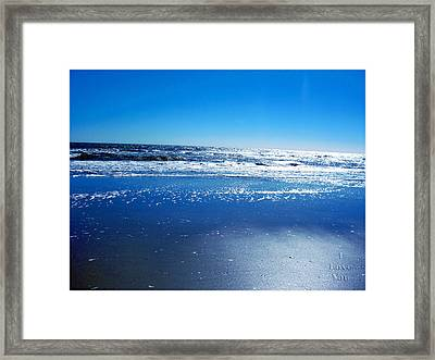 I Love You Framed Print by Brittany H