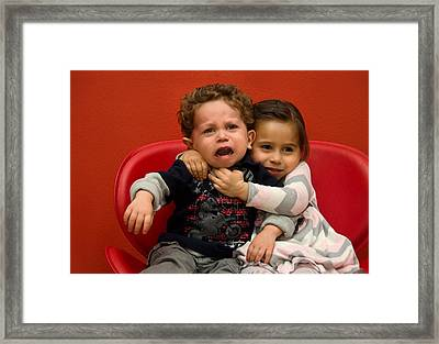 I Love You Brother Framed Print