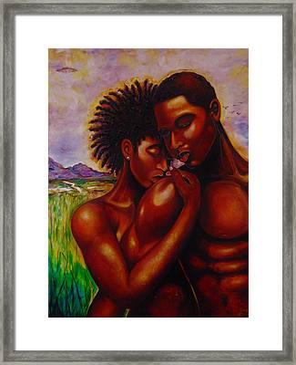 I Love You Framed Print by Emery Franklin