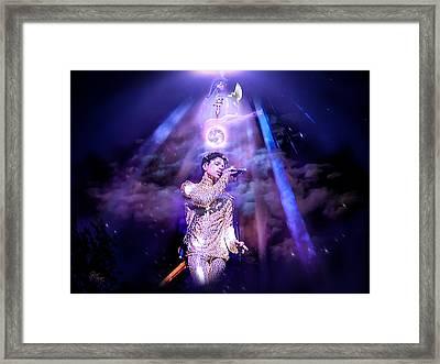 I Love You - Prince Framed Print