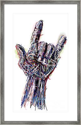 I Love You Framed Print by Robert Yaeger