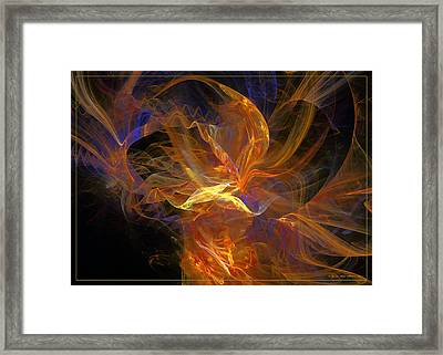 I Love You Framed Print by Sipo Liimatainen
