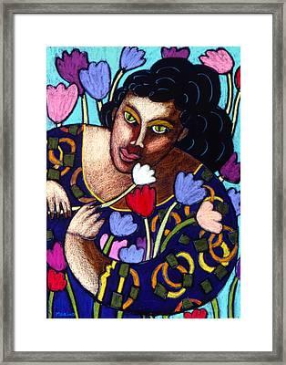 I Love Your Ways Framed Print by Angelina Marino