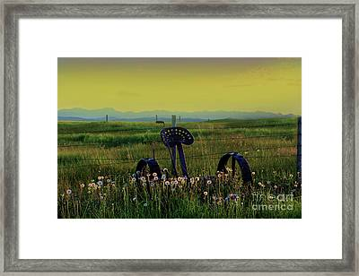 I Miss The Rockies II Framed Print