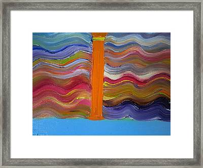 I On A Normal Day Framed Print by Cindy  Riley