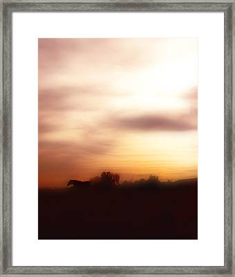I Once Had A Dream ... Framed Print by ELA-EquusArt