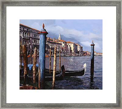 I Pali Blu Framed Print by Guido Borelli