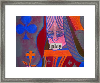 I Play Framed Print by Heinrich Haasbroek